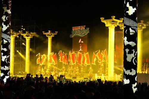 10月28日 西安-倾国倾城晚会现场精彩镜头