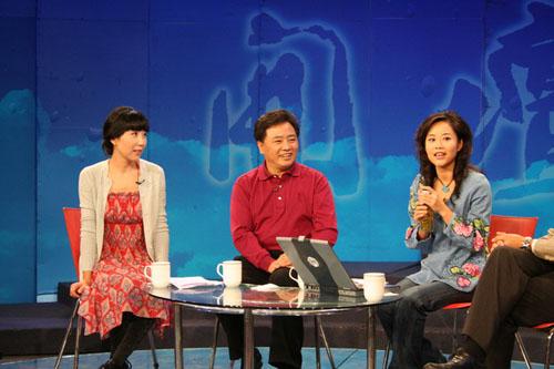 青啤总裁金志国做客陕西电视台《开坛》栏目
