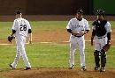 图文:[棒球]红袜VS落基山 观察形势