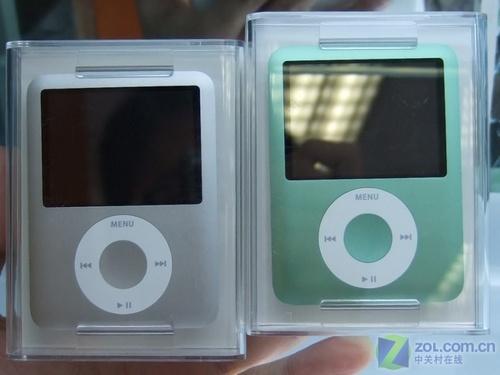苹果彩色胖子促销 8GB nano 3 现售1610