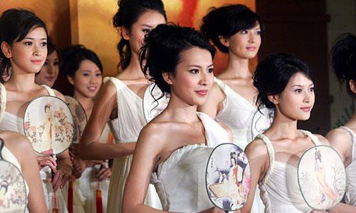 2007中华小姐环球大赛参赛选手(资料图)