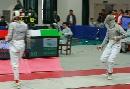 图文:男重团体1/4决赛沈阳vs北京海淀 比赛间歇