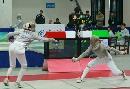 图文:男重团体1/4决赛沈阳vs北京海淀 跃起反攻