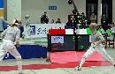 图文:男重团体1/4决赛沈阳vs北京海淀 靠近对手
