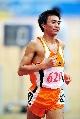 图文:六城会男子5000米预赛 西宁市任龙云晋级