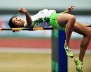 图文:六城会女子七项全能跳高 苏璐璐跳1米72