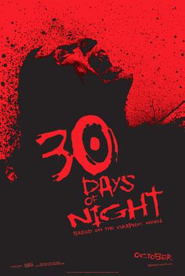 《三十极夜》海报