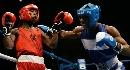 图文:拳击世锦赛第八日 哥伦比亚罗梅罗挨拳头