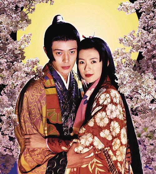 05年与章子怡演出电影《狸御殿》