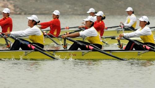女子四人双桨预赛