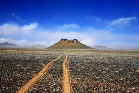 奔向可可西里神秘的火山