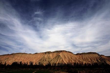 可可西里的铜矿山