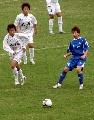 图文:女足半决赛大连VS广州 大连队率先启动
