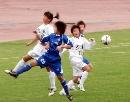 图文:女足半决赛大连VS广州 谁也没争到