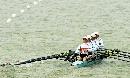 图文:城运女子轻量级2000米四人双桨 奋勇前行