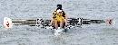 图文:城运女子轻量级2000米四人双桨 动作整齐