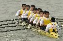 图文:男子2000米八人单桨有舵赛 武汉乘风破浪