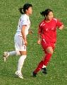 图文:东道主武汉4-0大胜南通 女选手体格健壮