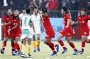 图文:大连女曲1-0广州夺冠 几人欢喜几人忧