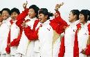 图文:大连女曲1-0广州夺冠 漂亮的女曲队员
