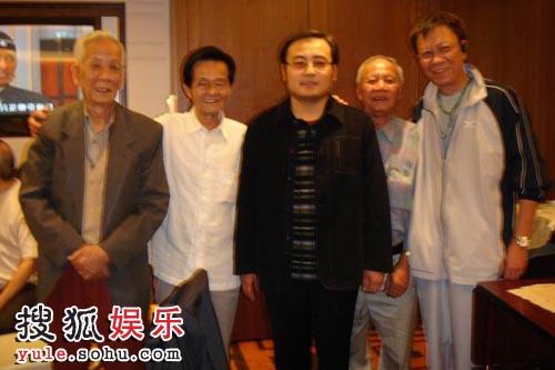 左起,黄捷、林超、魏君子、张全、黄岳泰