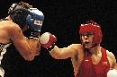 图文:拳击世锦赛第十日 张志磊比赛重拳出击