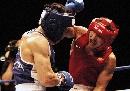 图文:拳击世锦赛第十日 被动哈那提表情痛苦