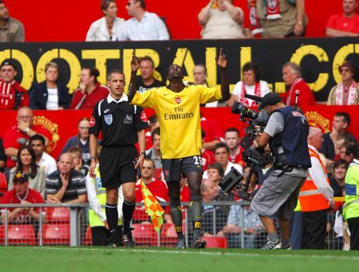 2006年9月17日,阿德巴约的入球让曼联主场0比1落败