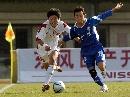 图文:沈阳队胜广州获六城会男足季军 赛场追逐