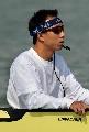 """图文:""""袖珍选手""""成赛艇比赛新看点 扩音设备"""