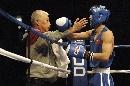 图文:拳击世锦赛邹市明晋级决赛 教练鼓励晋级