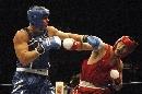 图文:拳击世锦赛张志磊无缘决赛 被对手压制