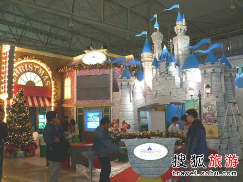 展台亮相2007中国国际旅交会