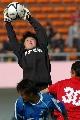 图文:南通队胜广州夺六城会女足季军 摘得高球