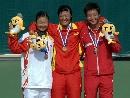 图文:李婷获六城会网球女子单打冠军 三甲合影