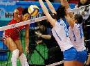 图文:意大利女排3-0多米尼加 秘鲁偷袭成功