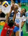 图文:意大利女排3-0多米尼加 阿奎罗强攻奏效