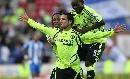 图文:[英超]切尔西2-0维冈 贝莱蒂庆祝进球