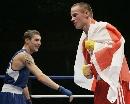 图文:[拳击]11级别冠军照 60KG亚军华伦蒂诺