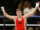 图文:[拳击]11级别冠军照 64KG哈萨克的塞里克