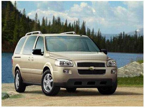 2004 雪佛兰uplander 7座中型面包车图片