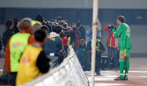 图文:[图文]国安VS天津 堤亚哥庆祝进球