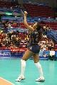 图文:女排世界杯美国3-1波兰 斯科特发球瞬间