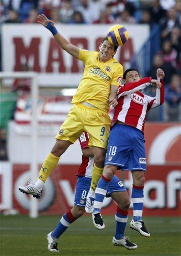 图文:马竞3-4比利亚雷亚尔 弗朗哥力压马尼切