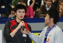 图文:李宗伟2-0战胜鲍春来 鲍春来获得亚军