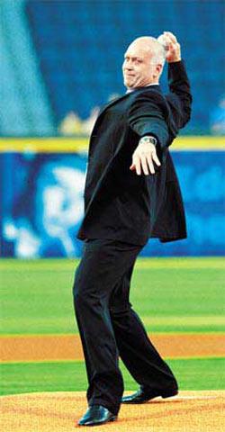 美国棒球名将卡尔-瑞普肯。