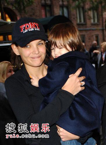 凯蒂-赫尔姆斯与孩子