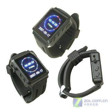 手表造型播放器出新品 可当FM发射器
