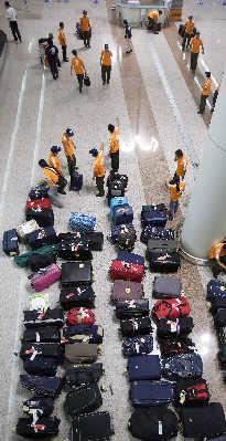 行李运输质量也是专项治理重点之一。早报记者鲁海涛资料