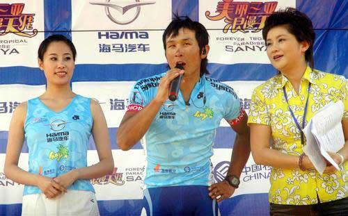 图文:[自行车]环岛赛第三赛段 马海军最佳感言